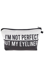 Make Up Bag Fullprint perfekt Eyeliner