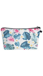 Make Up Bag Fullprint Blumen tropical
