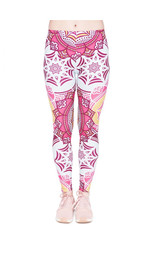 Leggings Fullprint Mandala Rosa