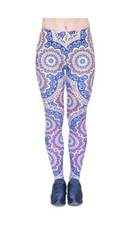 Leggings Fullprint Mandala Sun
