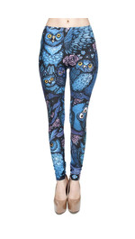 Leggings Fullprint Nachteule