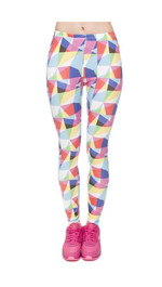 Leggings Fullprint Triangle RGB