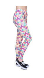 Leggings Fullprint Triangle Pink