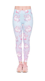 Leggings Fullprint Unicorn Pastell