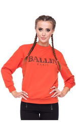Sweater mit Ballin Paris Print