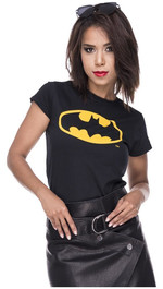 T-Shirt Batman Fledermausmotiv Logoprint