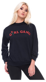 Sweater Sweatshirt Frontprint Girl Gang