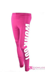Workout Leggings Magenta