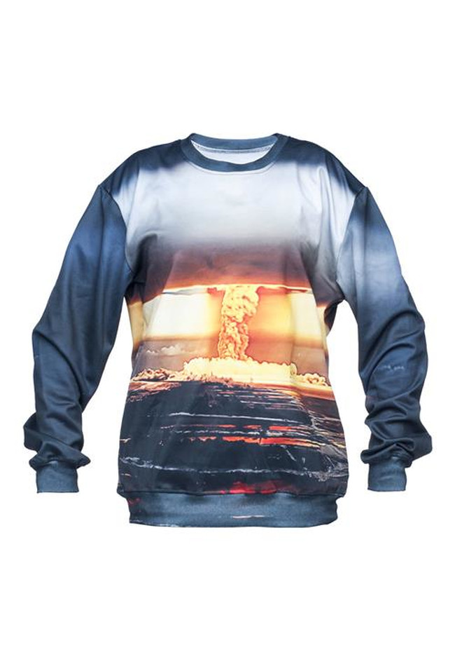 Nuke Bomb Sweater Fullprint