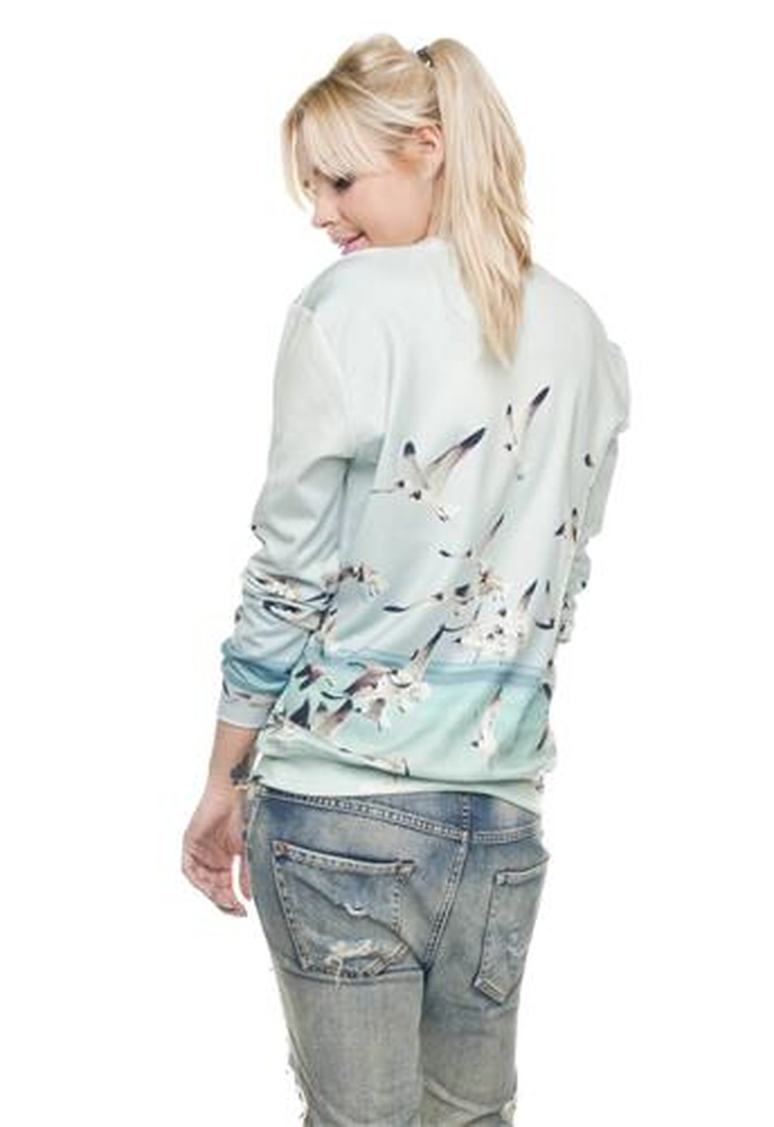 Seagull Sweater Fullprint