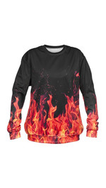 Fire Sweater Fullprint