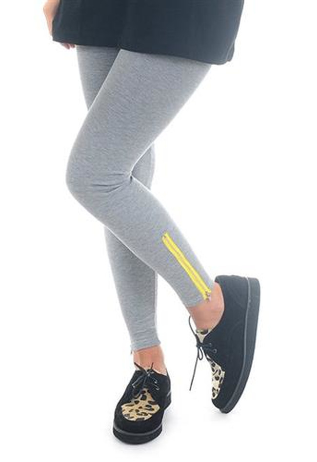 Leggings Colour Zipped