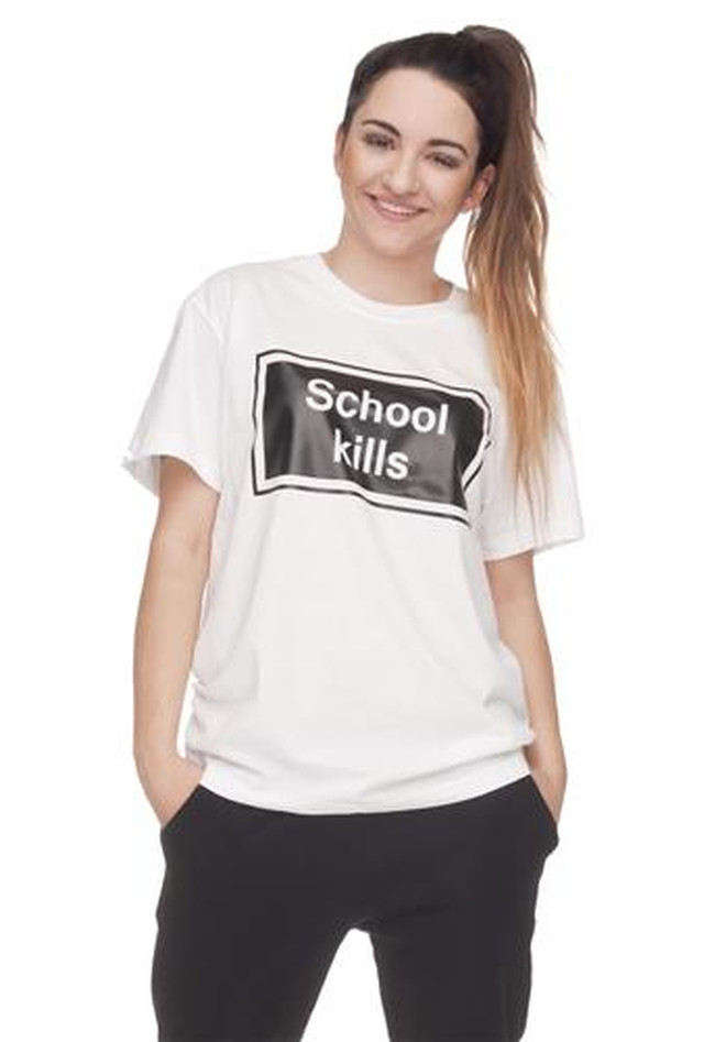T-Shirt Oversize School Kills