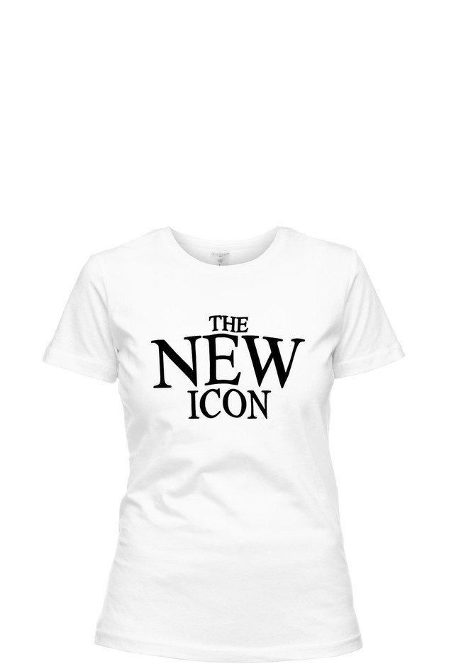 T-Shirt Ladies Round New Icon