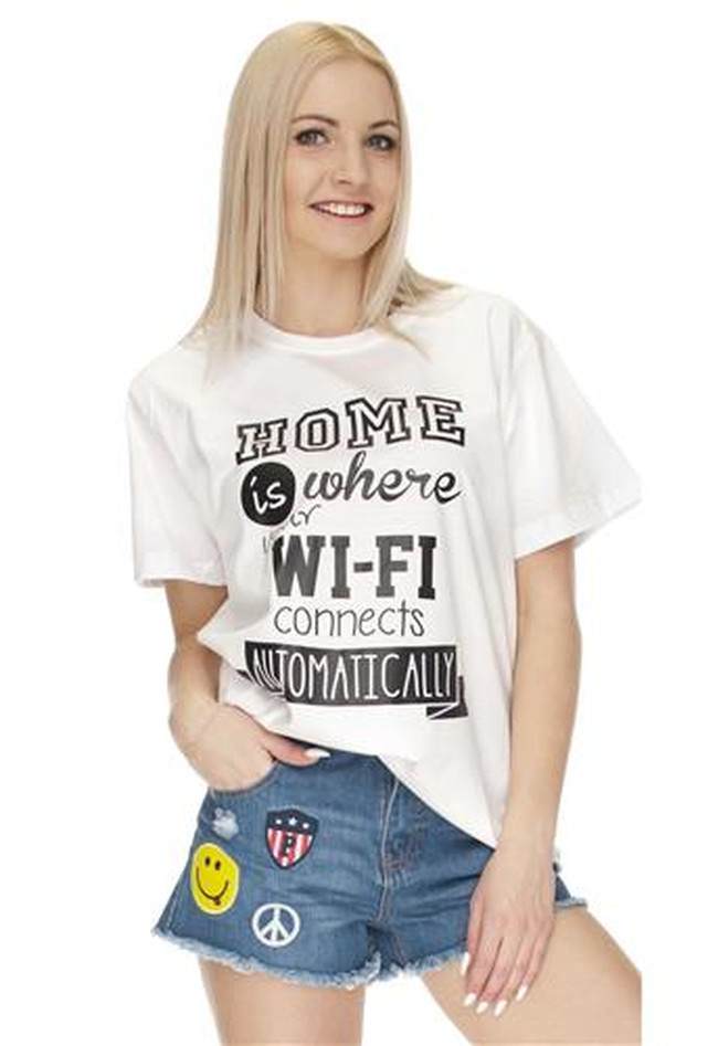 T-Shirt Home Is Where Wifi