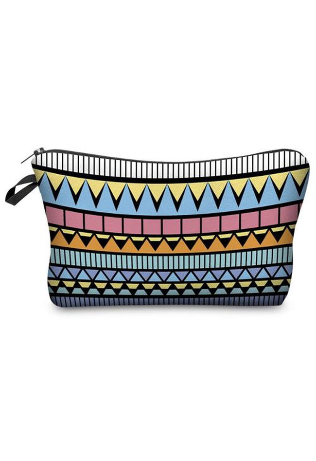 Make Up Bag Aztec Blue