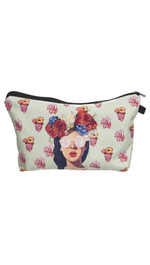 Make Up Bag Fullprint Hipster Girl