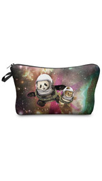 Make Up Bag Galaxy Panda And Cat