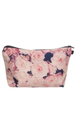Make Up Bag Fullprint Vintage Roses Pink
