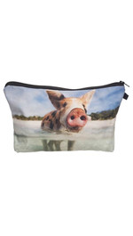 Make Up Bag Fullprint Water Pig