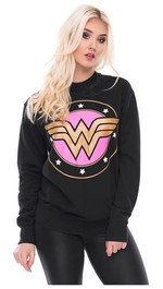 Sweater Wonderwoman Superhero