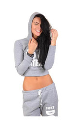 Hoodie Cropped Do It Later - verschiedene Farben