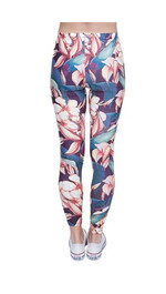 leginsy fullprint FLOWER PATTERN