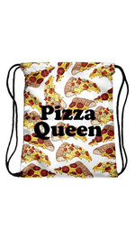 Beutel Fullprint Pizza Queen