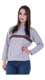 Sweater Front-Stripes Regular Lilly