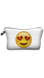 Make Up Bag Emoji Love