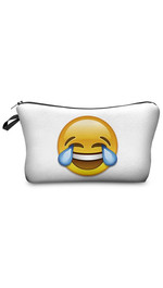 Make Up Bag Emoji Tears