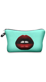 Make Up Bag Red Lips