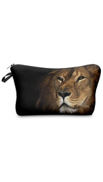 Make Up Bag Black Lion