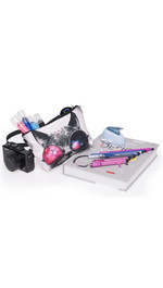 Make Up Bag Galaxy Sunglasses Cat