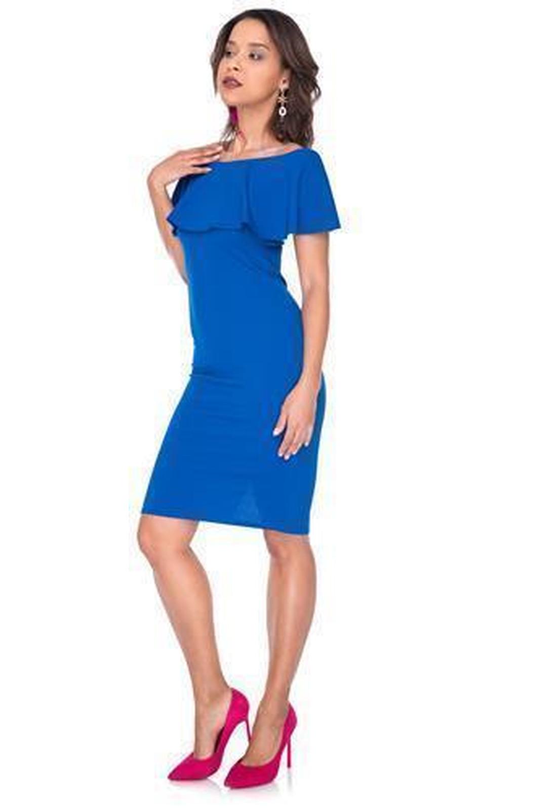 Atemberaubend Electric Blue Partykleid Ideen - Brautkleider Ideen ...
