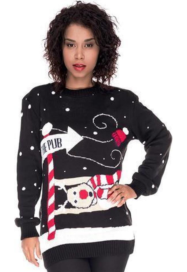 84aae8aca6fc Weihnachstspullover Damen Weihnachstpullis Weihnachten To The Pub