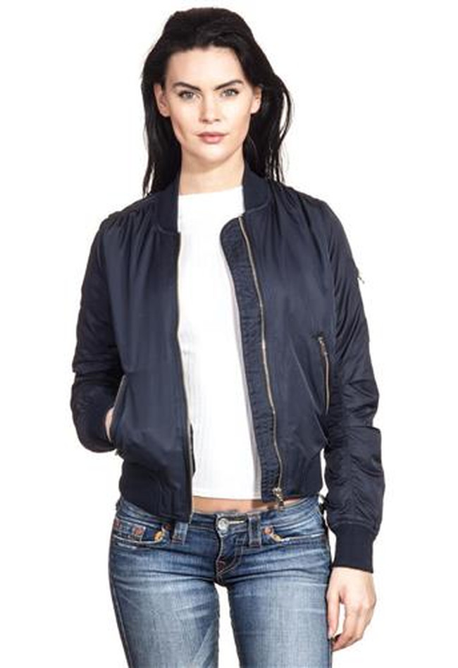 Bomberjacke Koko - Zipped Pockets