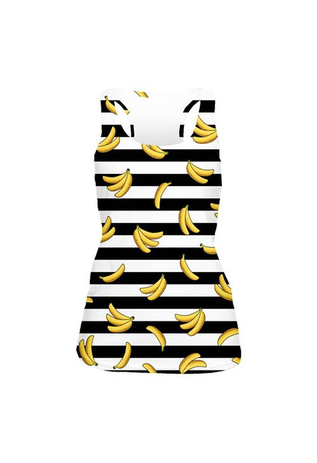 tank top fullprint  BANANA STRIPSES