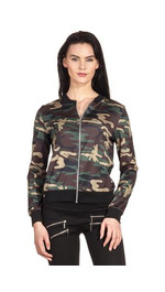 Army Bomber Thin Dark Louis