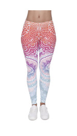 Fullprint Leggings Ombre Aufdruck