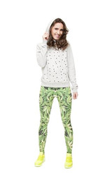 Leggings Fullprint Marihuana