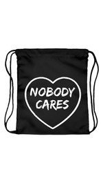 Beutel Nobody cares Heart