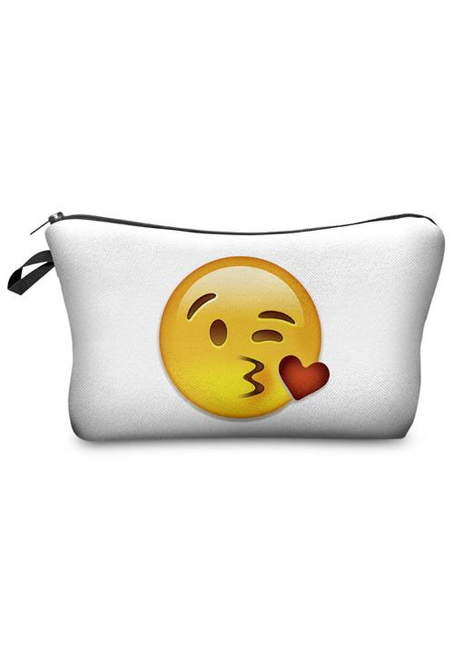 Make Up Bag Emoji Big Kiss