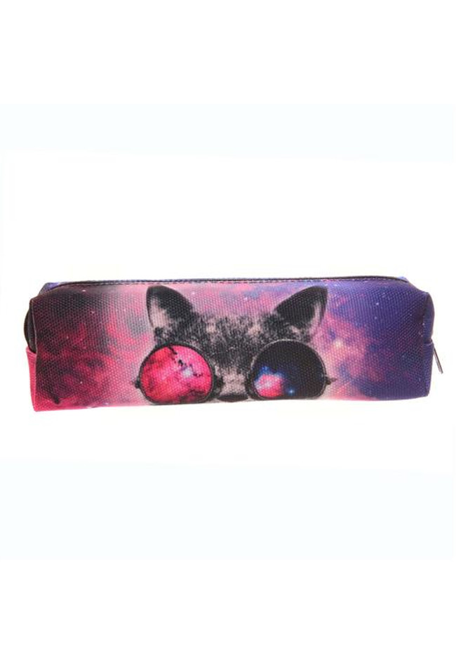Federmäppchen Galaxy Sunglasses Cat