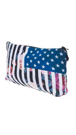 Make Up Bag USA Flowers