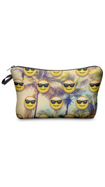 Make Up Bag Emoji Sunset Beach