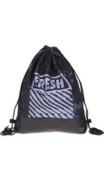half leather simple backpack  FRESH GRAFFITI