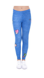 Leggings Fullprint Girls Gang Jeans
