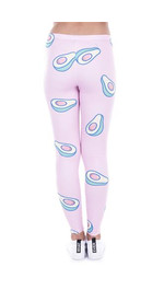 Leggings Fullprint Avocado Pink