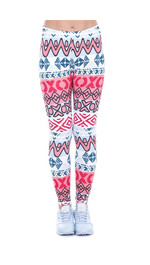 Leggings Fullprint African Aztec